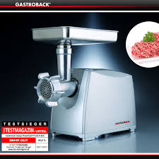 gastroback 41403 design fleischwolf plus gastroback mincer cookfunky