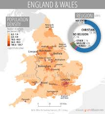 Wales England Map by Population Density And Religion Of England And Wales U2013 Cartomission