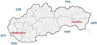 Slovakia Map Venues
