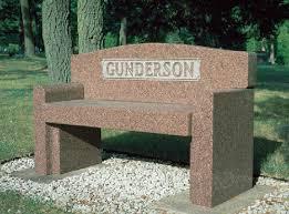 granite benches coldspring