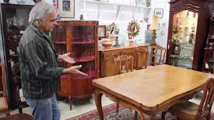 antique draw leaf table french antique draw leaf extension table louis style youtube
