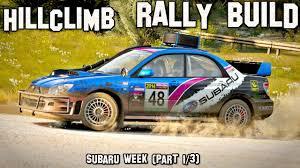 subaru rally wrx hillclimb rally build 2005 subaru impreza wrx sti forza