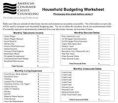 Household Expense Spreadsheet 9 Useful Budget Worksheets That Are 100 Free