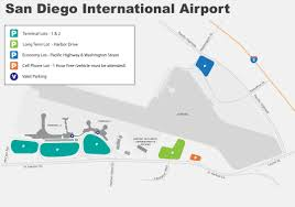 Map Of Miami International Airport by San Diego International Airport Map