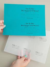 diy save the date invitations with calendar stickers bridalpulse