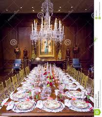 elegant christmas table setting stock photo image 48375929