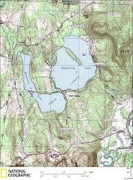 Kayak Map Twin Lakes Canoe U0026 Kayaking Map