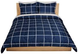 Bed Sheet Amazon Com Amazonbasics 7 Piece Bed In A Bag Full Queen Navy