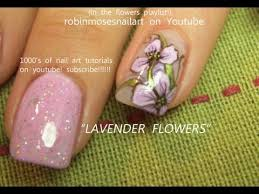 2 nail art tutorials easy nail art for beginners lavender iris