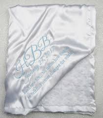 christening blanket personalized baby blessing blanket personalized blessing blanket silky