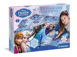 tappeto magico prezzo clementoni 13304 frozen tappeto gigante interattivo it