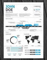 infographic resume templates graphic resume templates 14 21 stunning creative nardellidesign