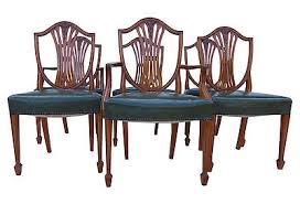 Antique Mahogany Dining Room Set by Superior Antique Set Of 8 Mahogany Dixie Dining Room Chairs