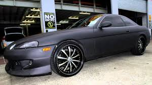lexus wheels and tires for sale lexus sc400 rolling staggered 20 inch lexani lss10 wheels youtube