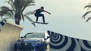 lexus tests skateboarder put the lexus hoverboard to the test on tailor made