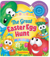 veggie tales easter the great easter egg hunt a veggietales book