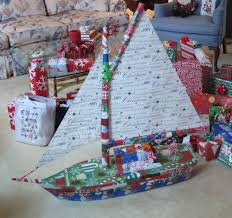 now that u0027s how to wrap a christmas present it u0027s not a boat