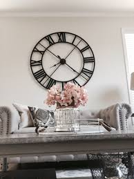 huge wall clocks addison open face clock blank walls clocks and decorating