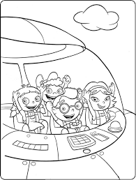 little einsteins coloring pages in rocket coloringstar