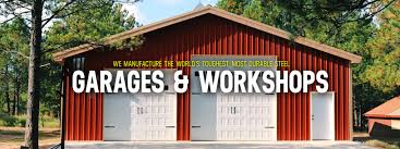 custom steel garage u0026 workshop kits worldwide steel buildings