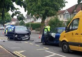 video cars crash in drove road swindon advertiser