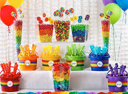 Candy For A Candy Buffet by Rainbow Candy Buffet Ideas St Patricks Day Party Ideas