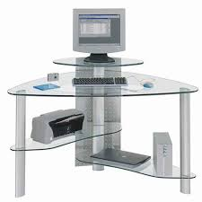 Buy Glass Computer Desk Lovable Glass Computer Desk Corner Small L Shaped Desk Best Small