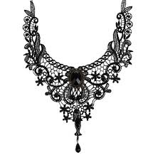 collar necklace fashion images Fashion goth necklaces for women 2017 beauty girl handmade jewelry jpg