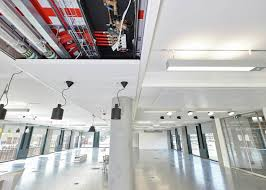 rehau u0027s largest uk installation chilled ceiling