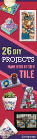 420 best cool diy ideas images on pinterest diy crafts and projects 26 creative diy projects made with broken tile