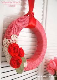 valentines day wreaths 25 diy s day wreaths six stuff