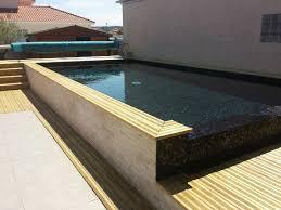 carrelage grand format pour piscine pâtes de verre noir métallique elena en promo à 49 u20ac90 ttc m