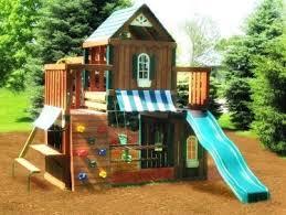 Diy Backyard Swing Set Backyard Playground Equipment U2013 Mobiledave Me
