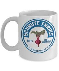 Office Coffee Mugs Schrute Farms 11oz Coffee Mug The Office By Thefoxyhipster On Etsy