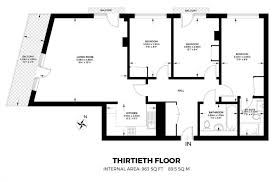 Tower Of London Floor Plan by Talisman Tower Lincoln Plaza London E14 3 Bedroom Flat For Sale