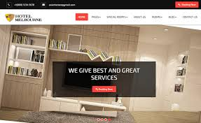 website to design a room 20 top free hotel website templates to attract millennial visitors