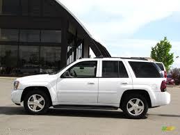 chevrolet trailblazer 2008 2008 summit white chevrolet trailblazer lt 4x4 32467107