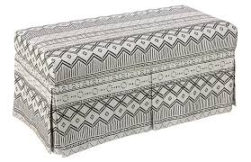 Kilim Storage Ottoman Desi Kilim Storage Bench Benches Living Room Furniture One