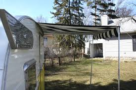 Awning For Tent Trailer Small Awning For Your Vintage Trailer