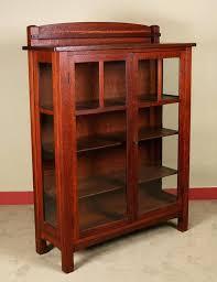 Oak Bookcases With Glass Doors Antique Oak Bookcase With Glass Doors Antique Bookshelf With Glass