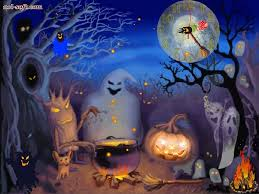 live halloween wallpaper for desktop wallpapersafari