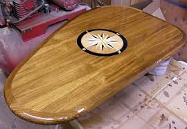 boat tables for cockpit custom wood table tops cockpit tables galley tables for boats