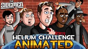 Challenge Miniminter The Sidemen Helium Challenge Animated