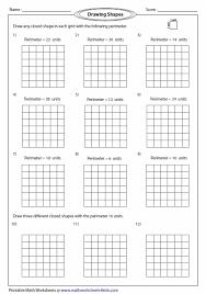 Free Printable Perimeter And Area Worksheets Perimeter Worksheets Math Area Perimeter Perimeter