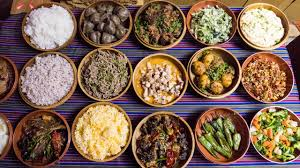 traditional cuisine of traditional bhutanese food and attractions in thimphu bhutan