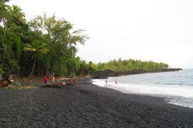 black sand beach big island kehena black sand beach big island hawaii x days in y