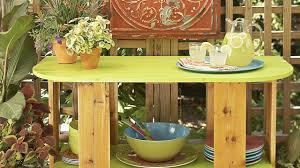 diy outdoor table plans youtube