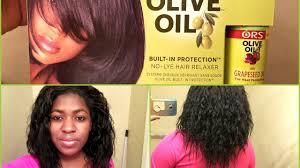 top relaxers for black hair ors olive oil relaxer december 2016 youtube