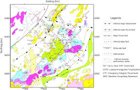 houston fault map lidar mapping of faults in houston usa geosphere at huston