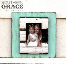 shabby chic frames with antique beadboard by southern grace
